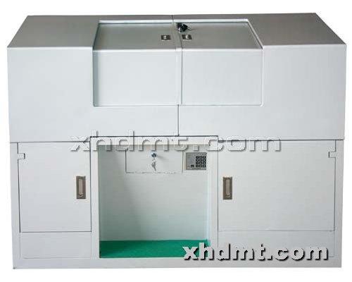 香河多媒体讲台提供生产1.4米双层左右滑盖电子读卡讲台厂家